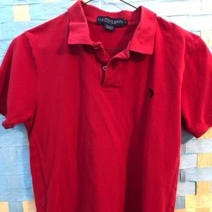 Polo by Ralph Lauren Shirts - Red short sleeve polo